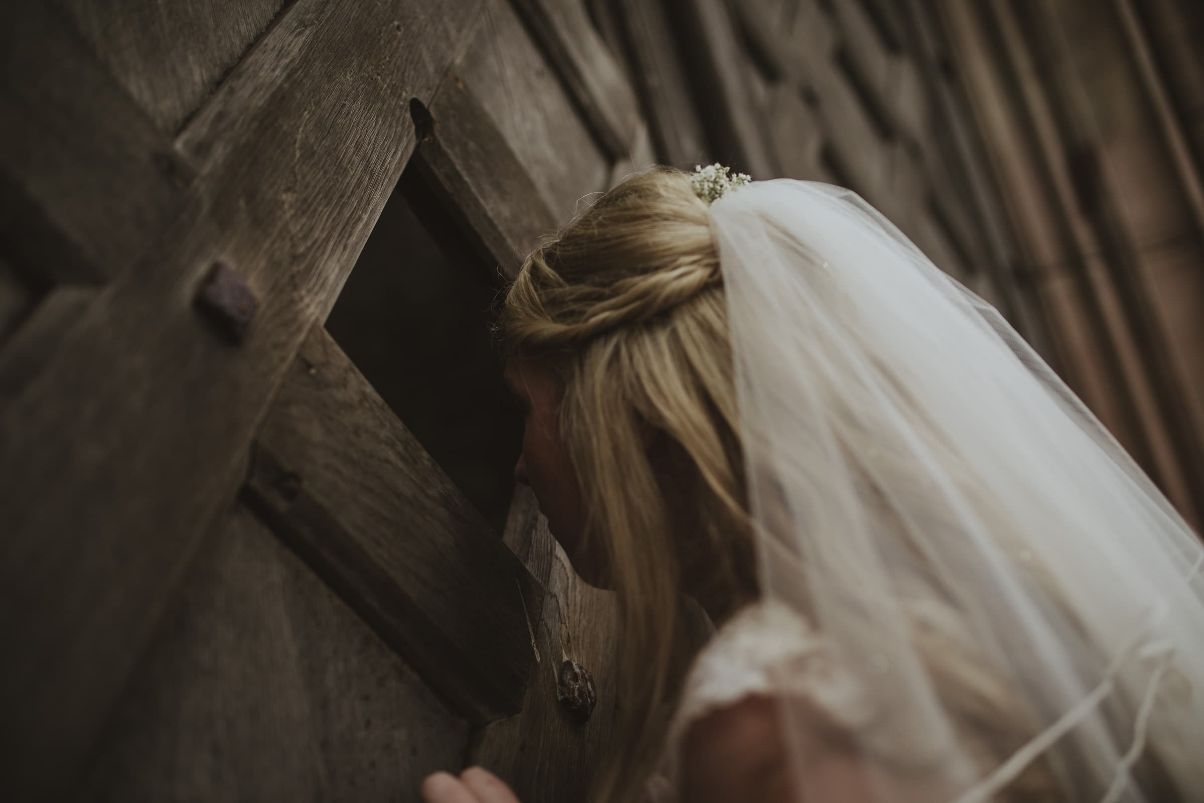 Becky Lowther Castle bridal photoshoot