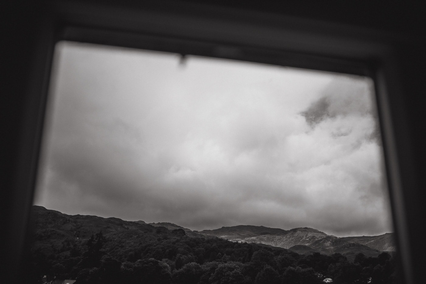 Clouds outside the window in Cumbria by Joshua Wyborn