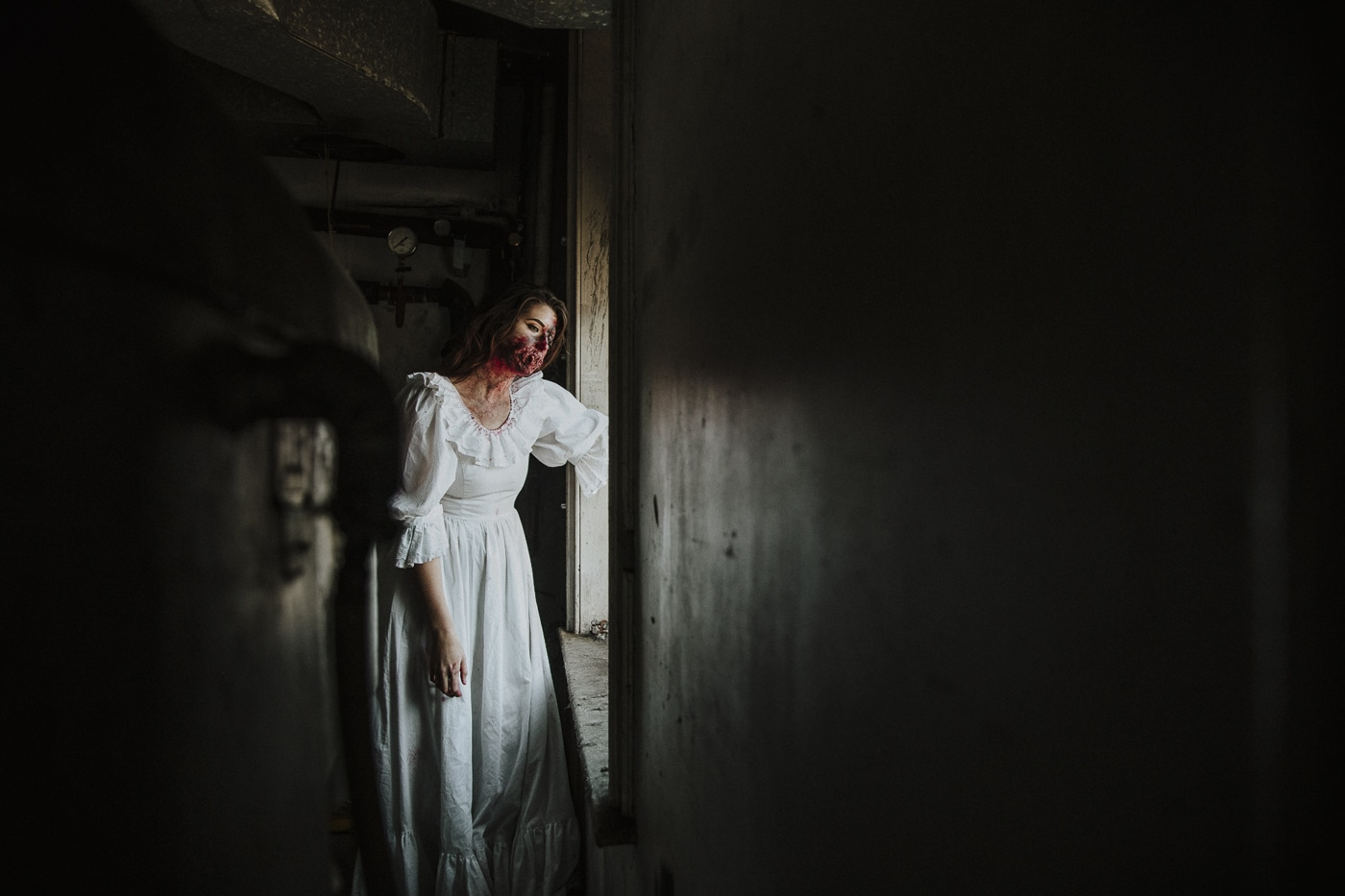 Halloween Horror bride Photograph