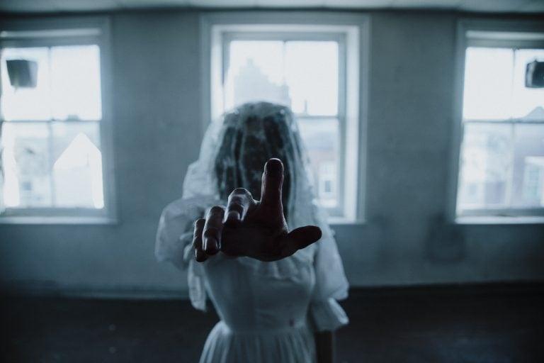Nightmare halloween bride pointing by Joshua Wyborn