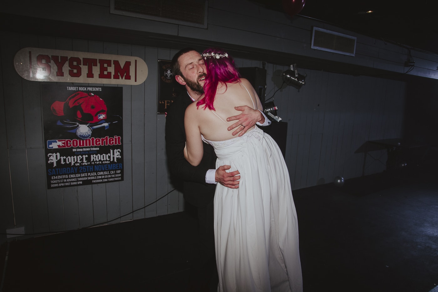 Bride and groom first dance by Joshua Wyborn Photographic