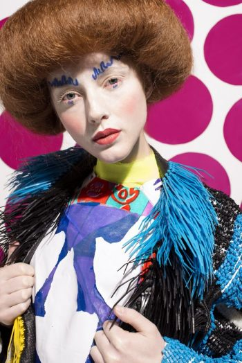 High fashion makeup Bridget Foster