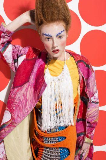 High fashion makeup by Bridget Foster