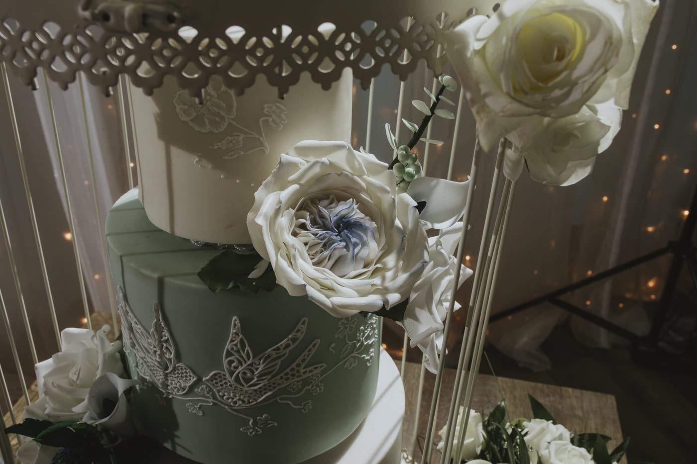 Mama Cake Cumbria cake maker detail photograph of sugar petals