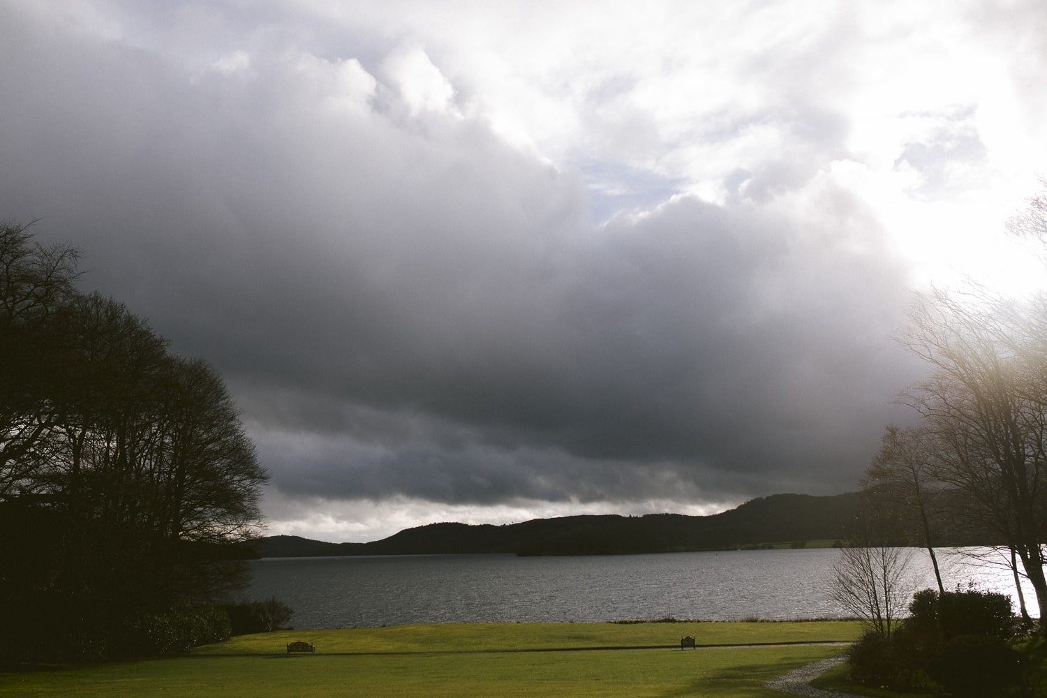 Storms over Storrs Hall On Windermere