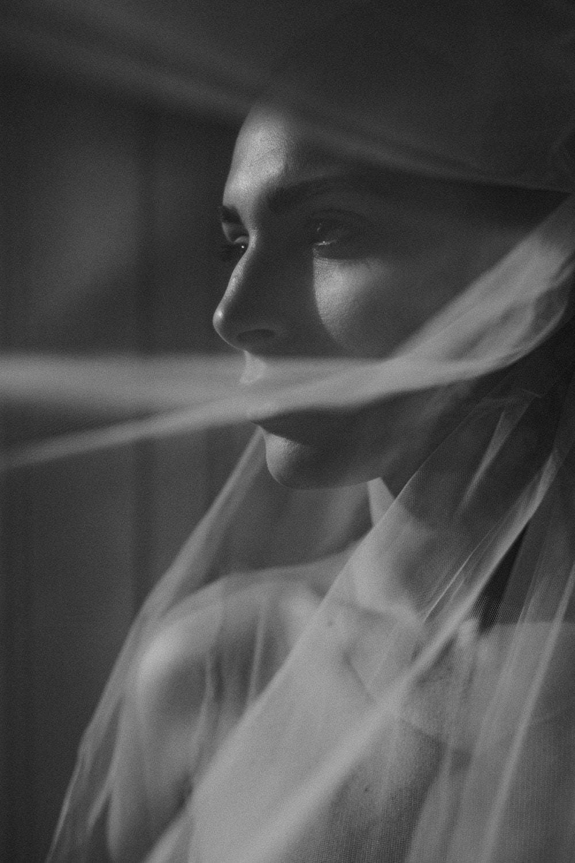 Bride in Storrs Hall window light