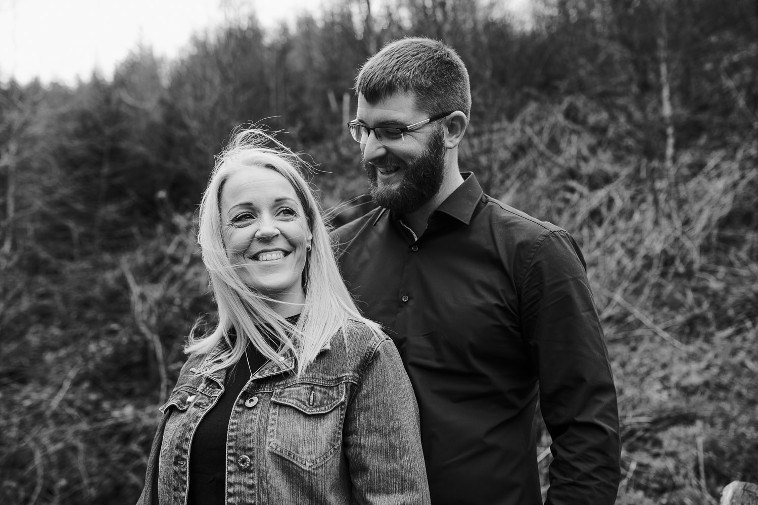 Couple portrait in the lake district