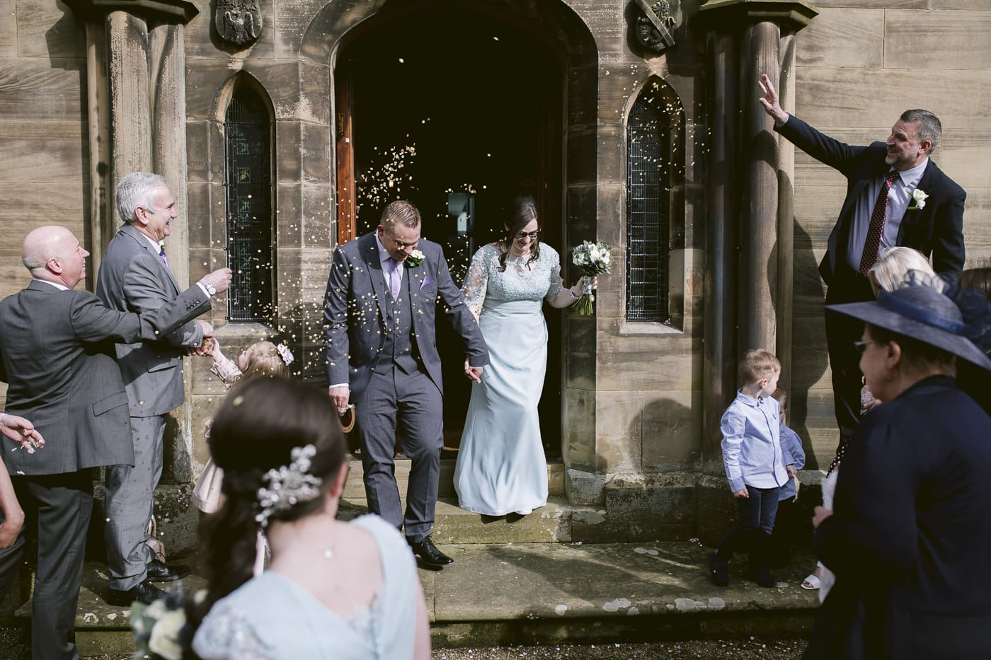 Carlisle Registry Office confetti