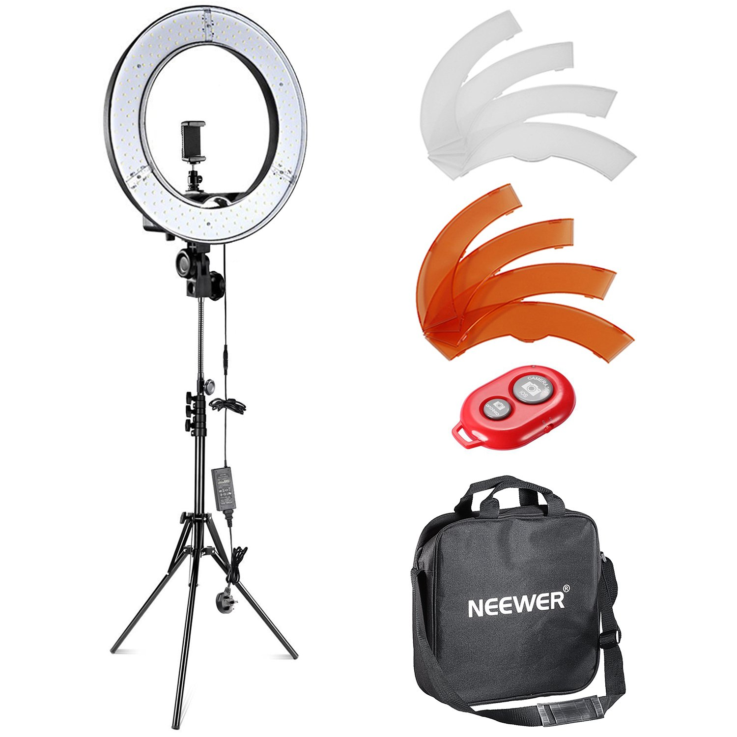 Light stand for aDIY Photo Booth