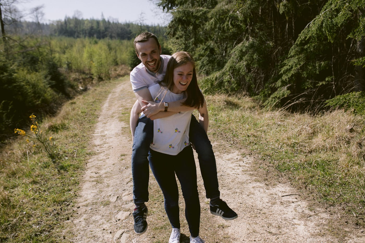 Ashley and Gerard Couple Portrait