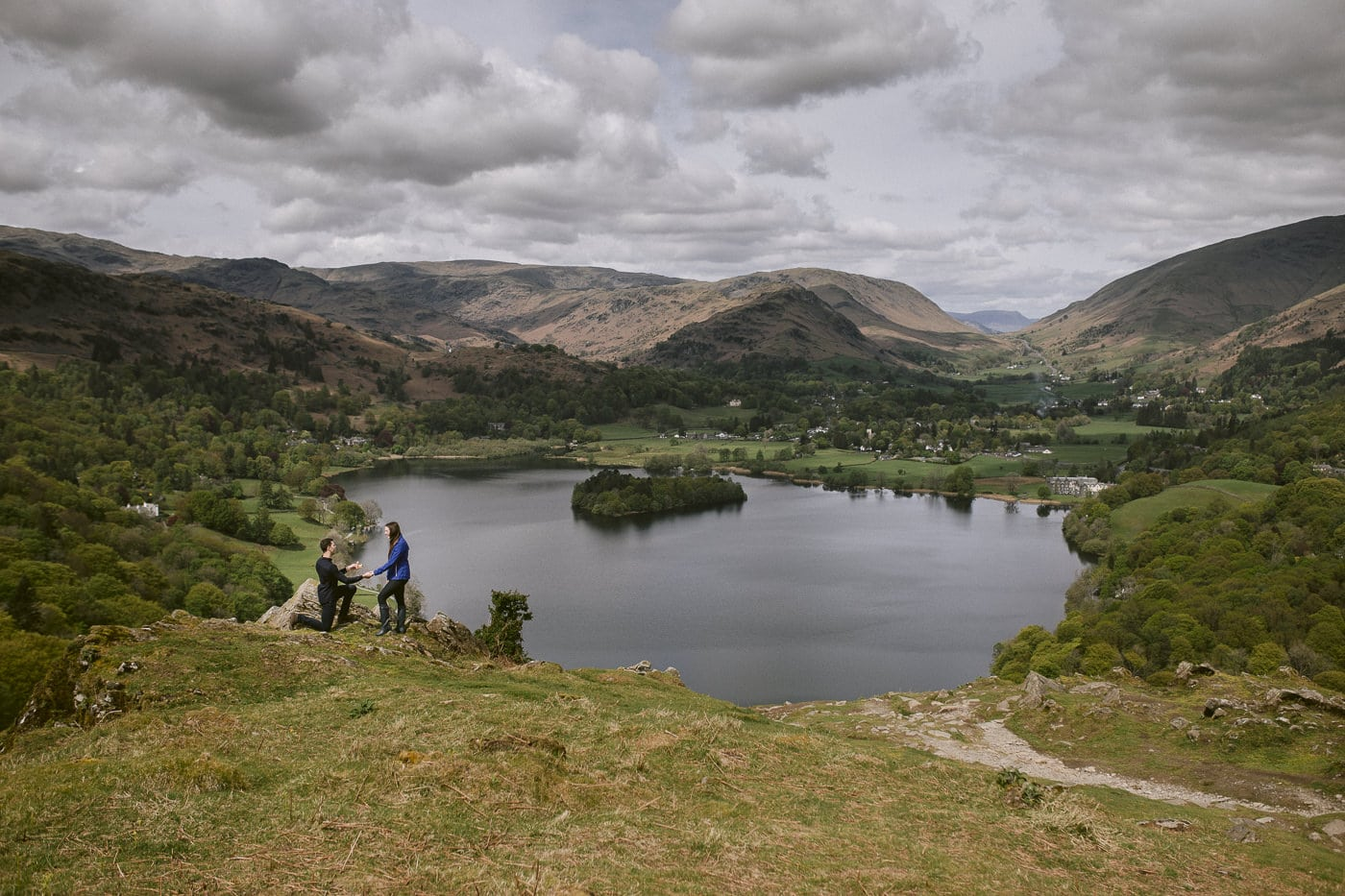Wedding Proposal in the Lake District
