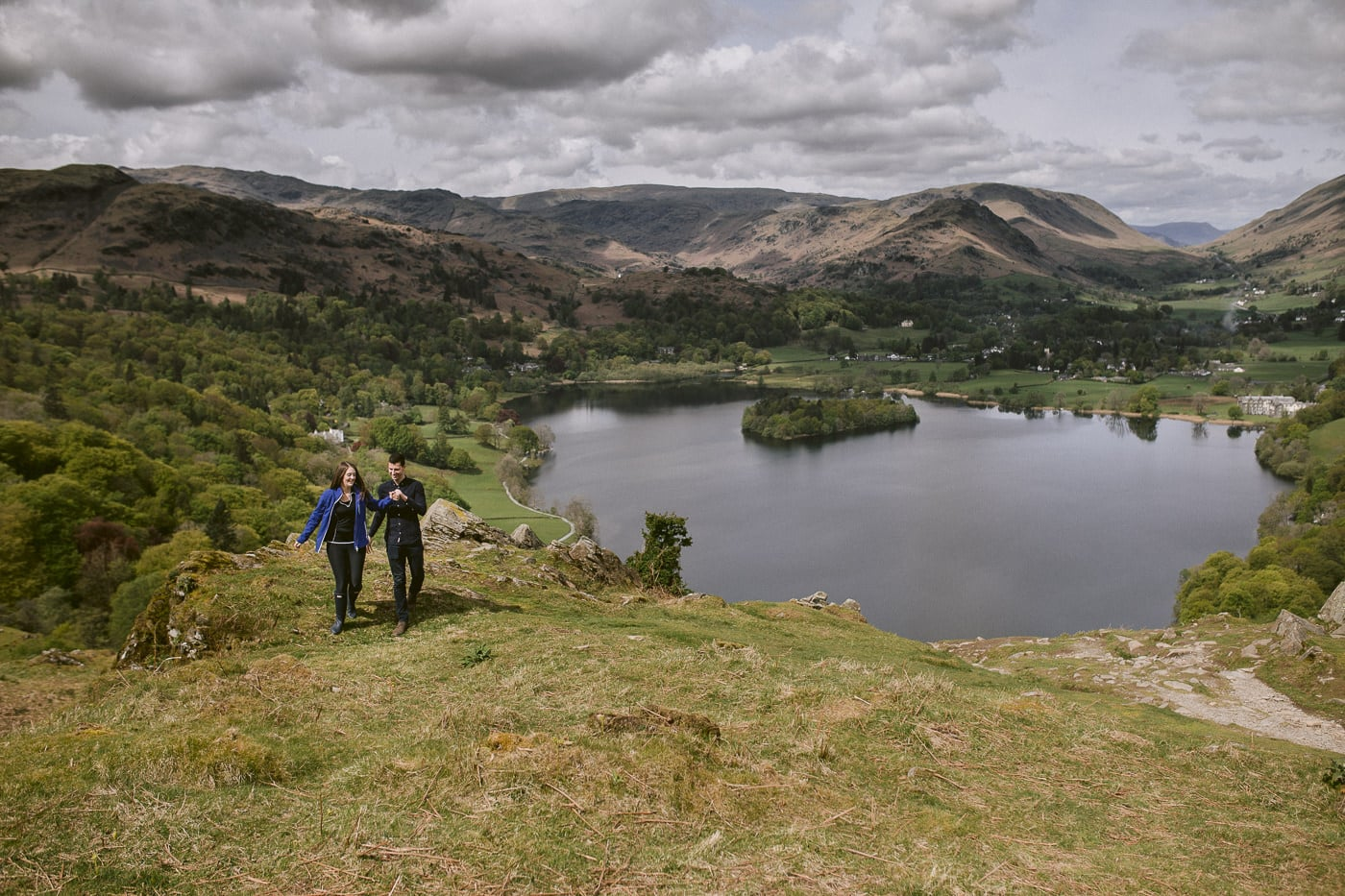 Couple Proposal in the Lake District