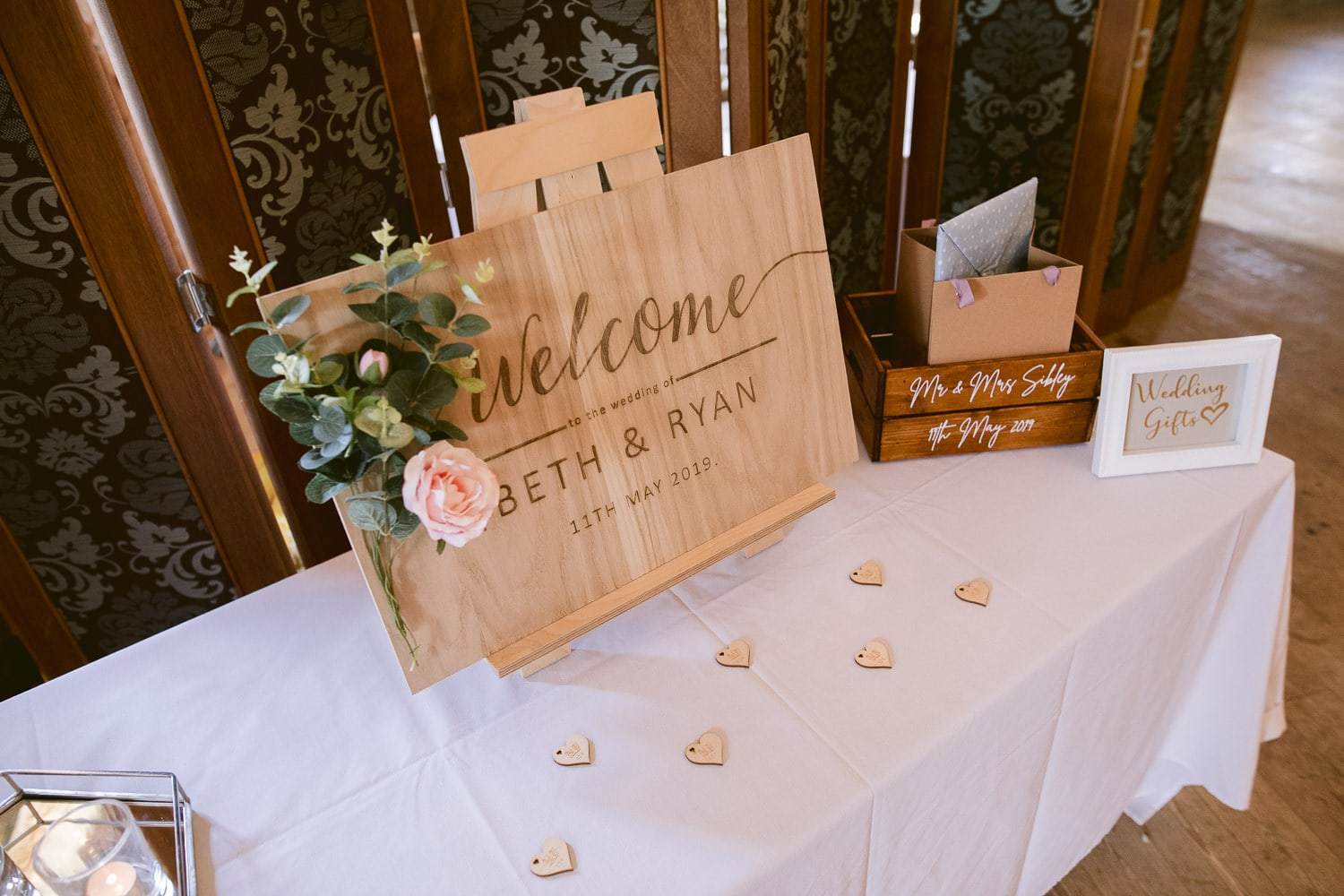 Welcome Sign at Three Hills Photography Session
