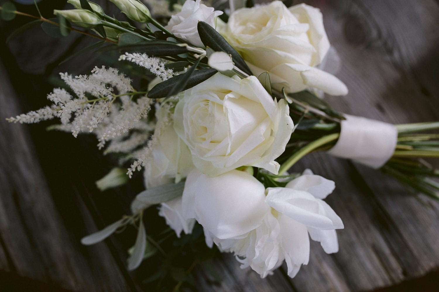 Photograph of Flowers on Table