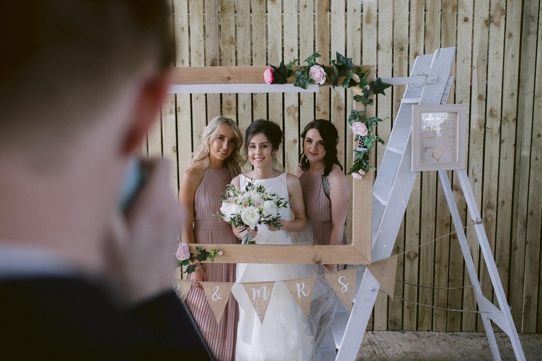 Bride and Bridesmaids Photography Portrait Shoot