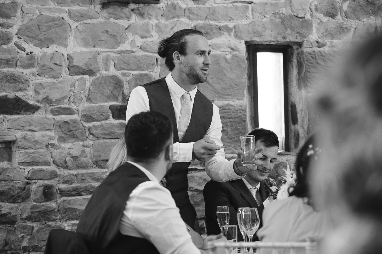 Wedding Guest Speech Photography