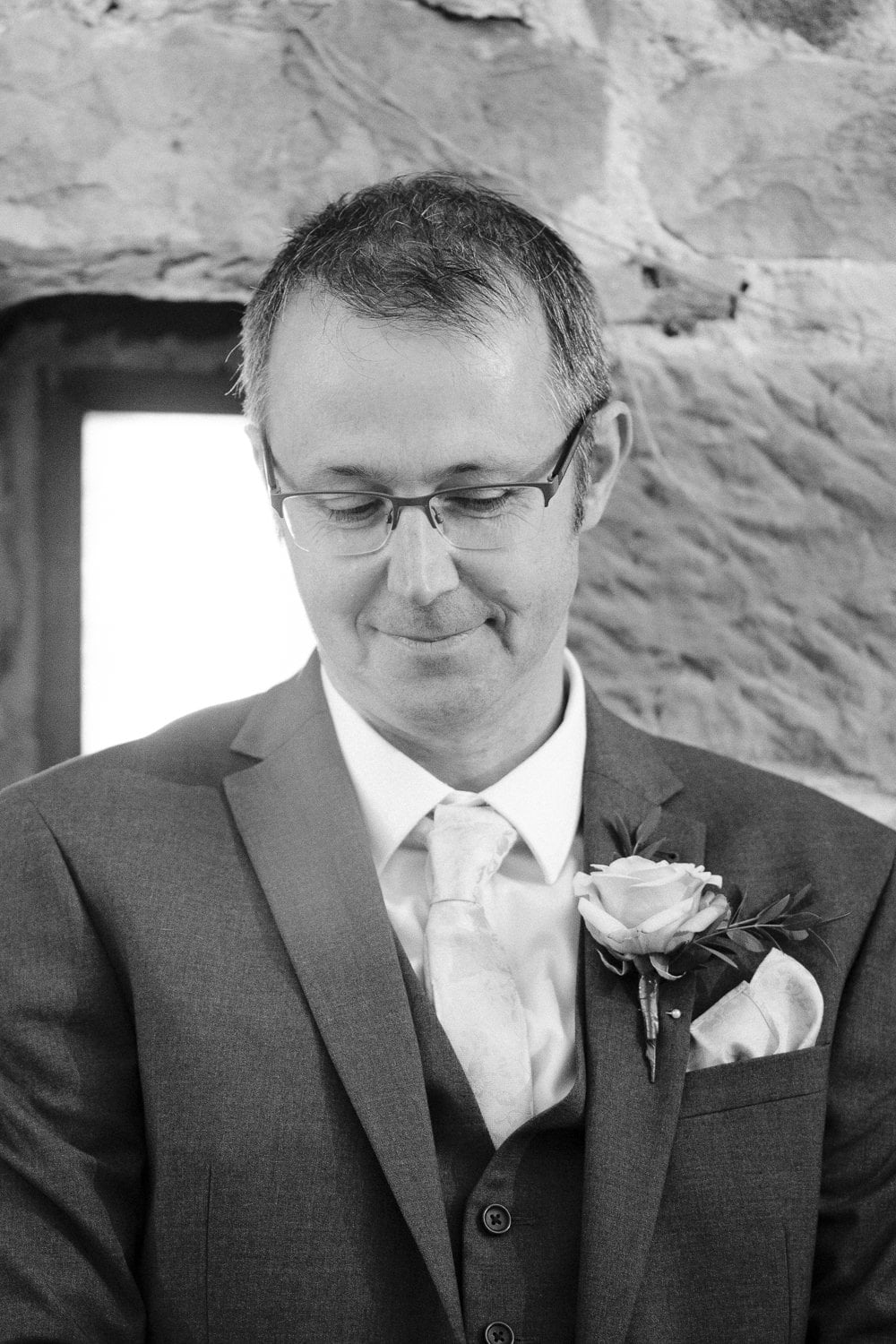 Father of the Bride Smiling Photography Portrait