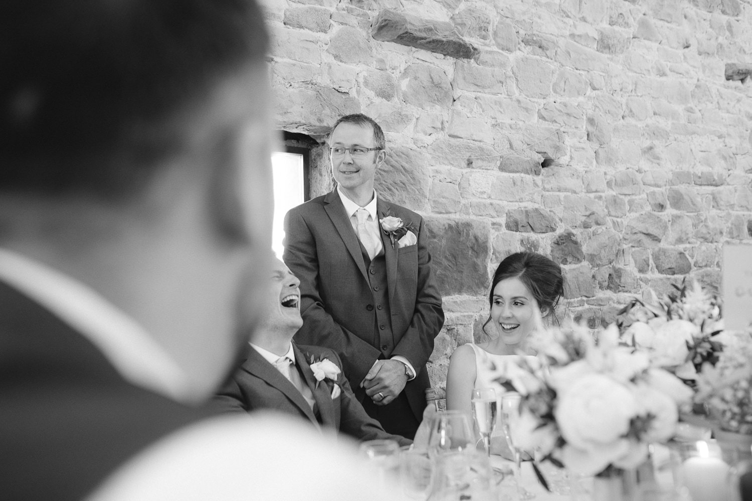Family Speech with Wedding Bride and Guests