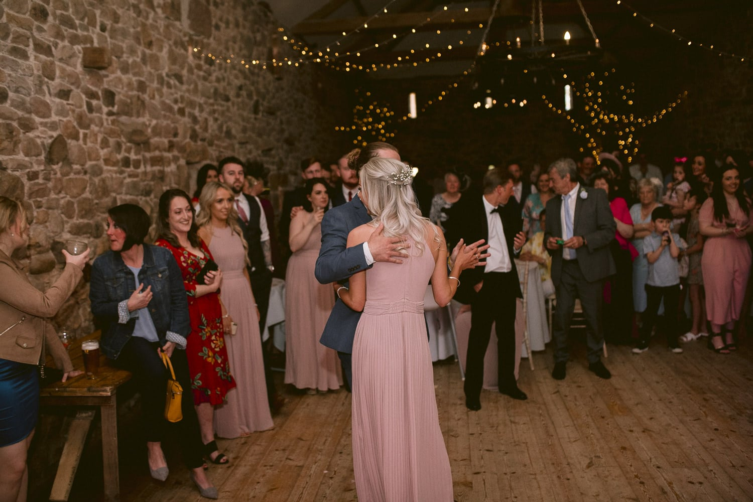 Guests Dancing In Main Hall Photography Shoot