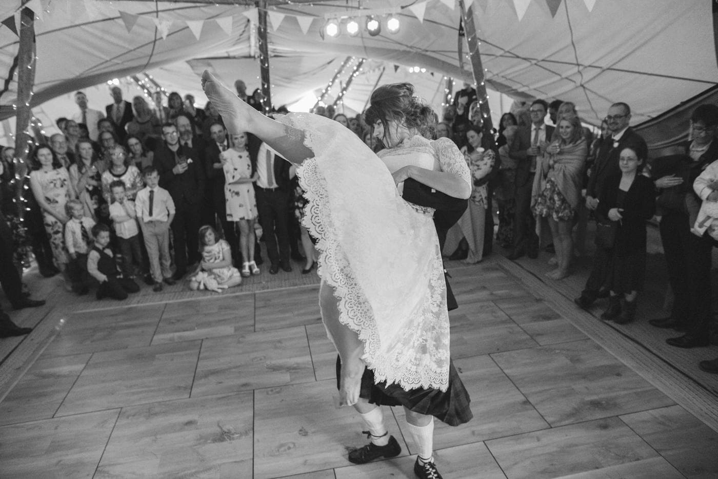Dancing in Tipi Tent,Portrait of Bride and Groom