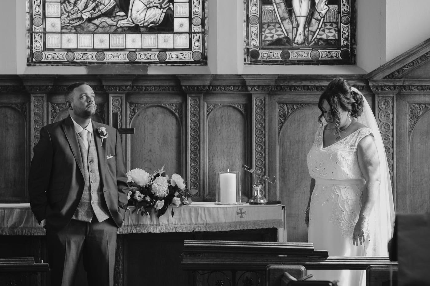 Bride and Groom Wedding Signatures Portrait Photography Cumbria
