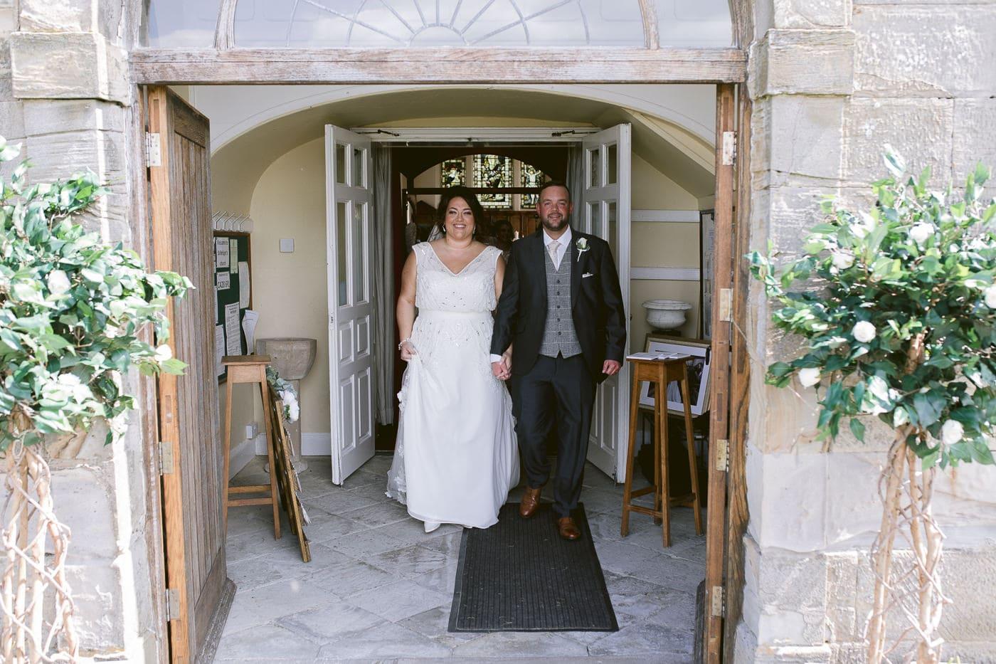 Entrance Walk Photography Wedding Portrait Photo Session
