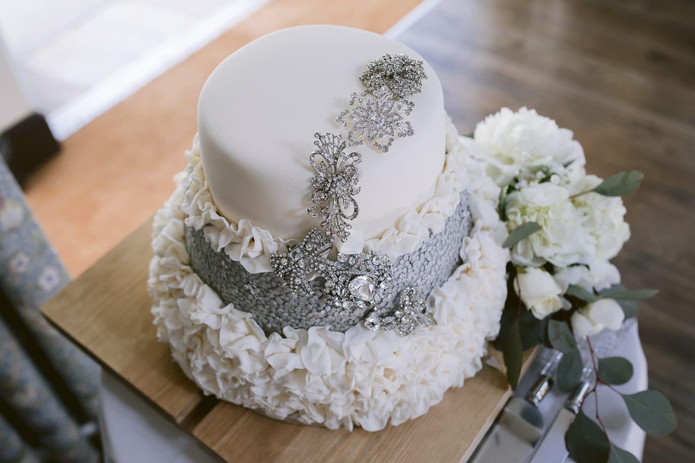 Decorative Irton Hall Wedding Cake Photo Shoot Session
