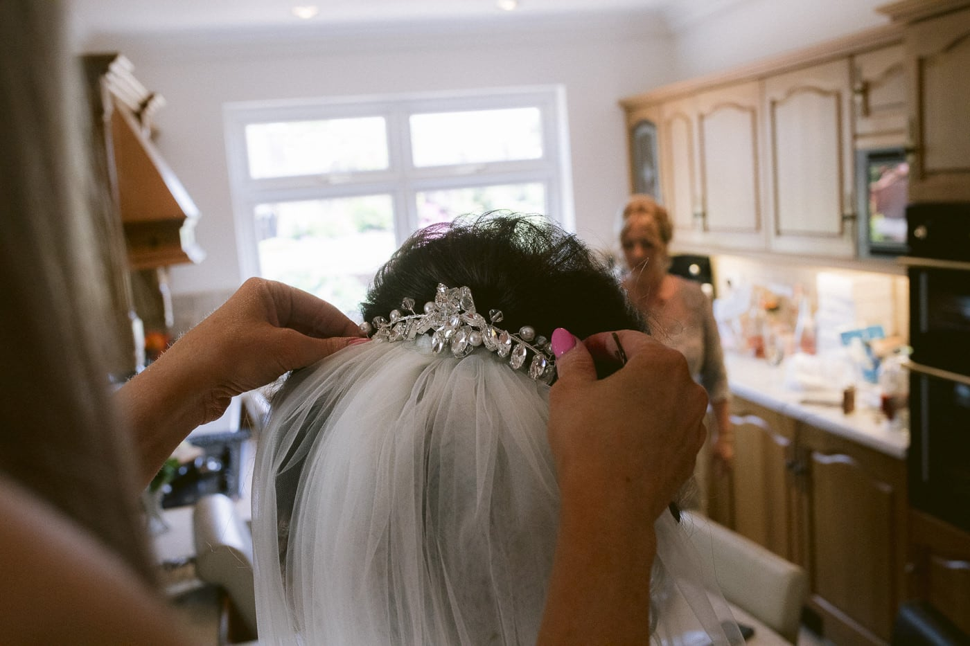 Bridal Hair Piece Photography Cumbria