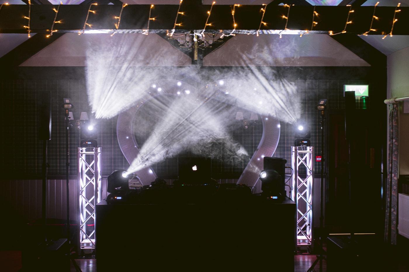 Wedding Maing DJ Lighting and Speakers