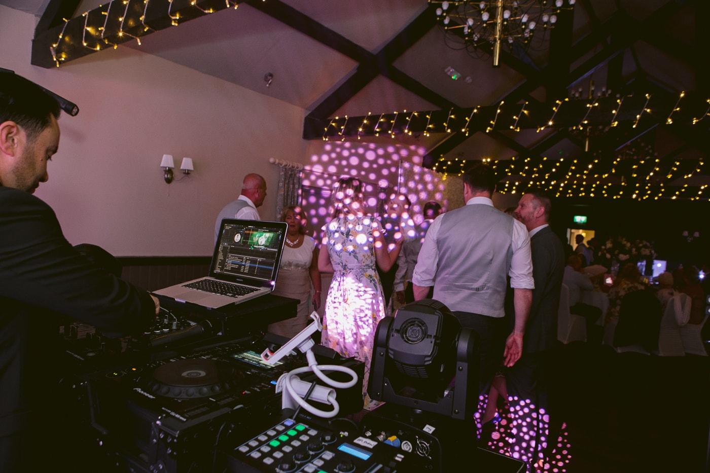 DJ Setup at Main Hall Dance Area Photography Session