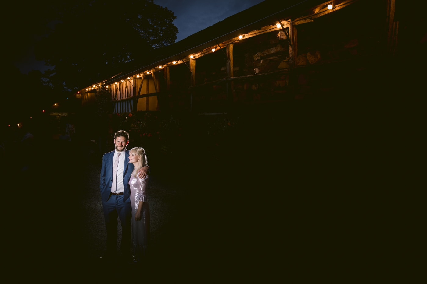 Bride and Groom Late Evening Portrait Session