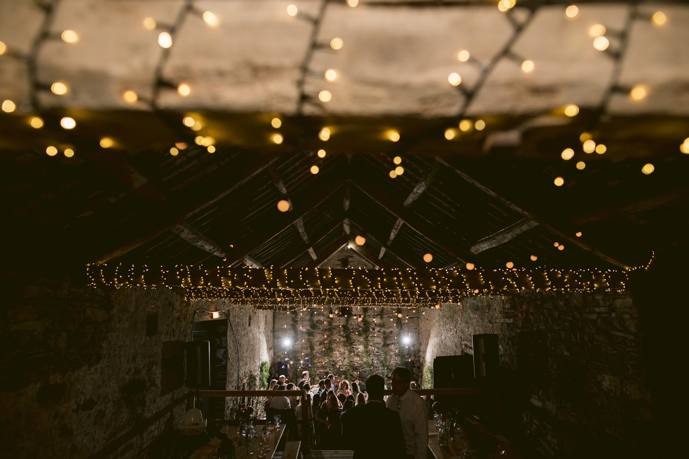 Main Hall Lights Above Portrait Session