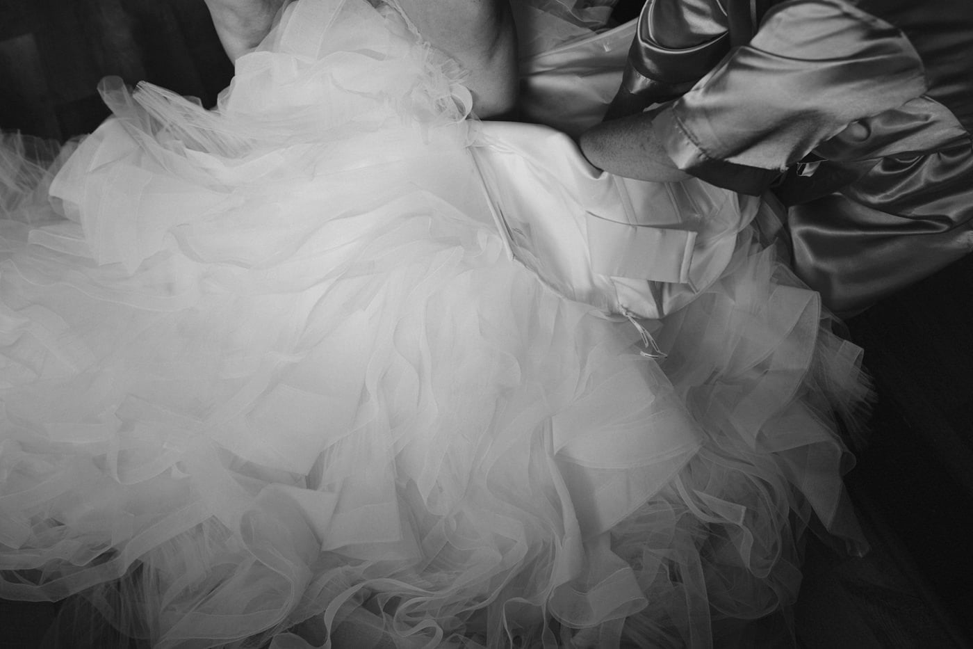 Wedding Dress Photography Shot