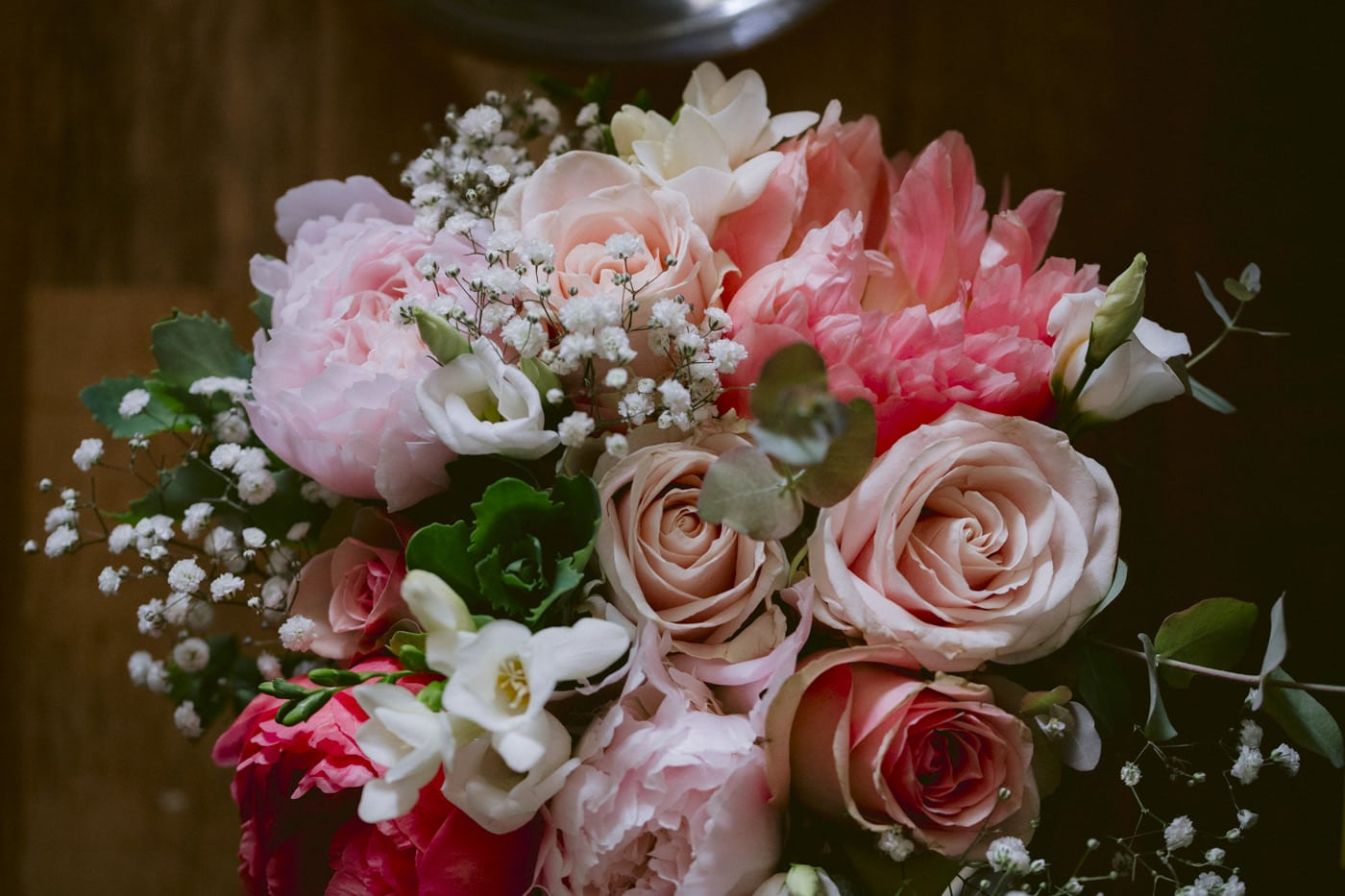 Photograph of a bunch of Flowers for Wedding Day