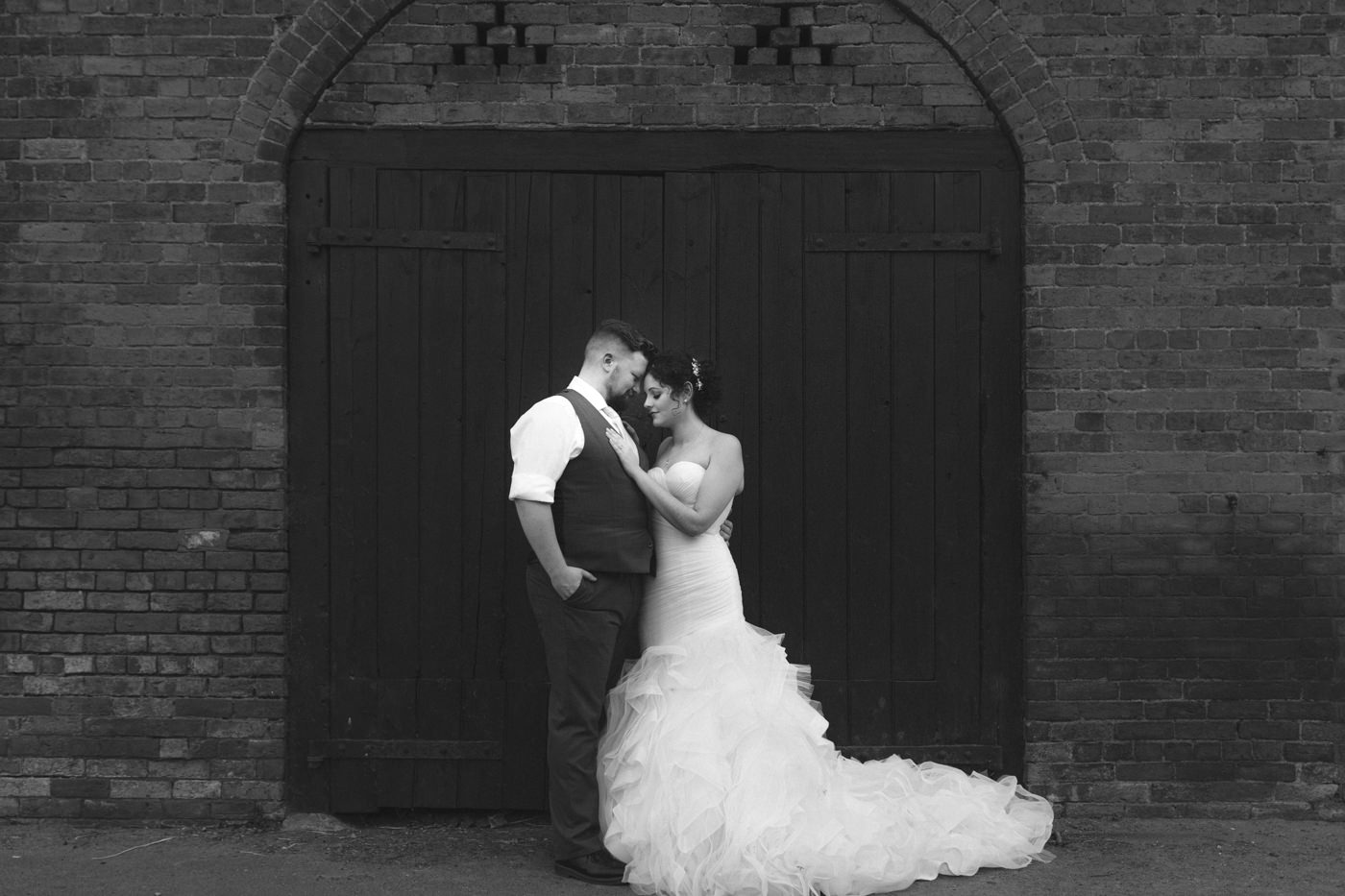 Bride and Groom Together Forever Portrait Photography