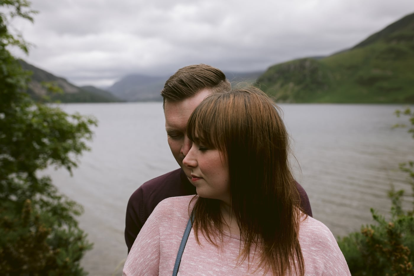 Couple Portrait Session Together at Ennerdale Water