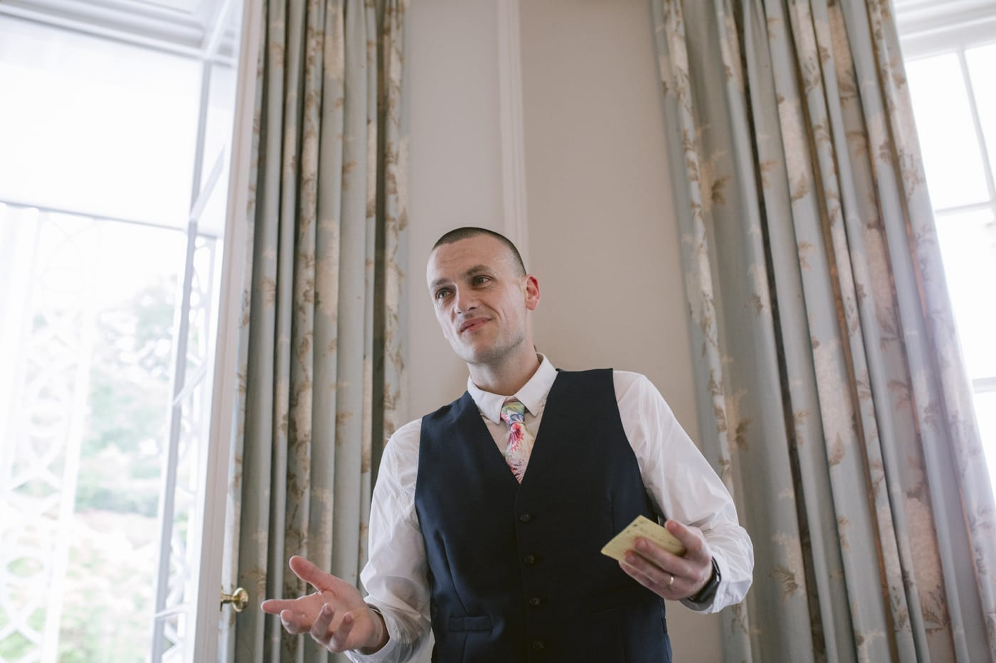 Best Man Wedding Speech at Storrs Hall Wedding