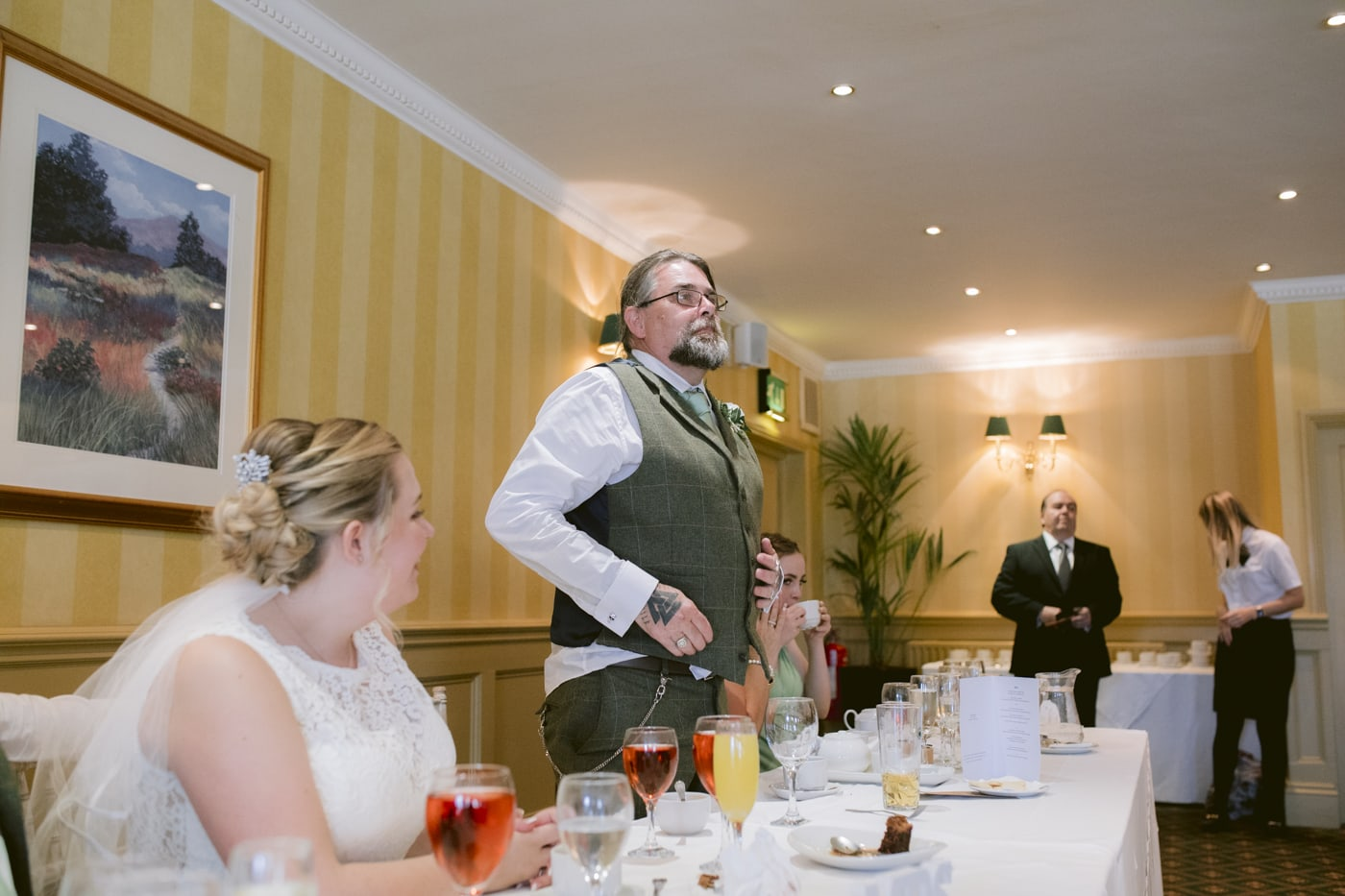 Groom Speech at Roundthorn Country House