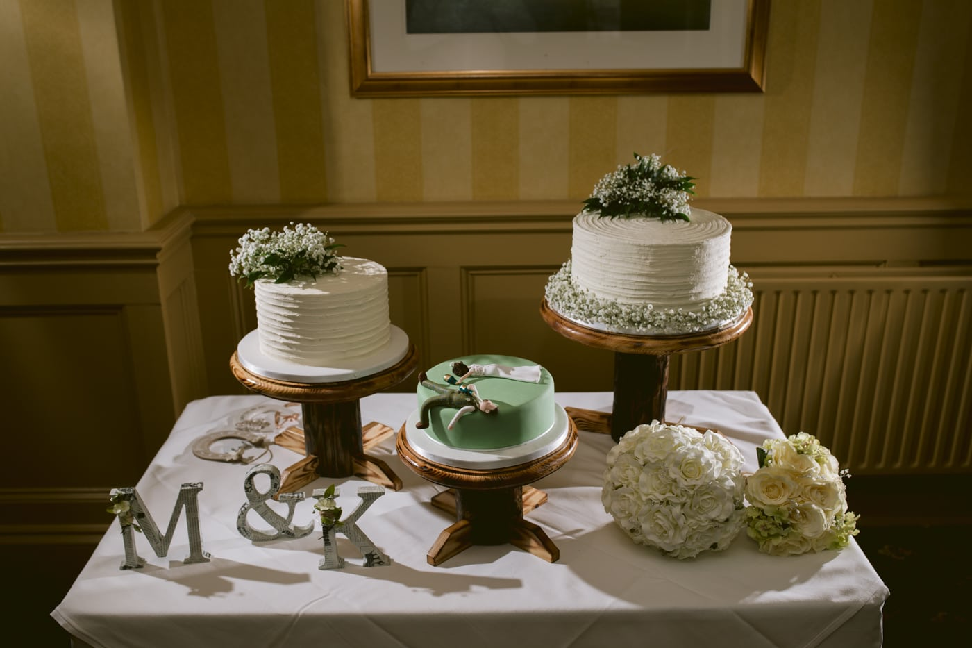 Wedding Cake's at Roundthorn Country House