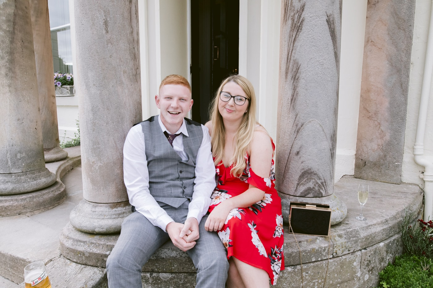 Couple Portrait at Roundthorn Country House