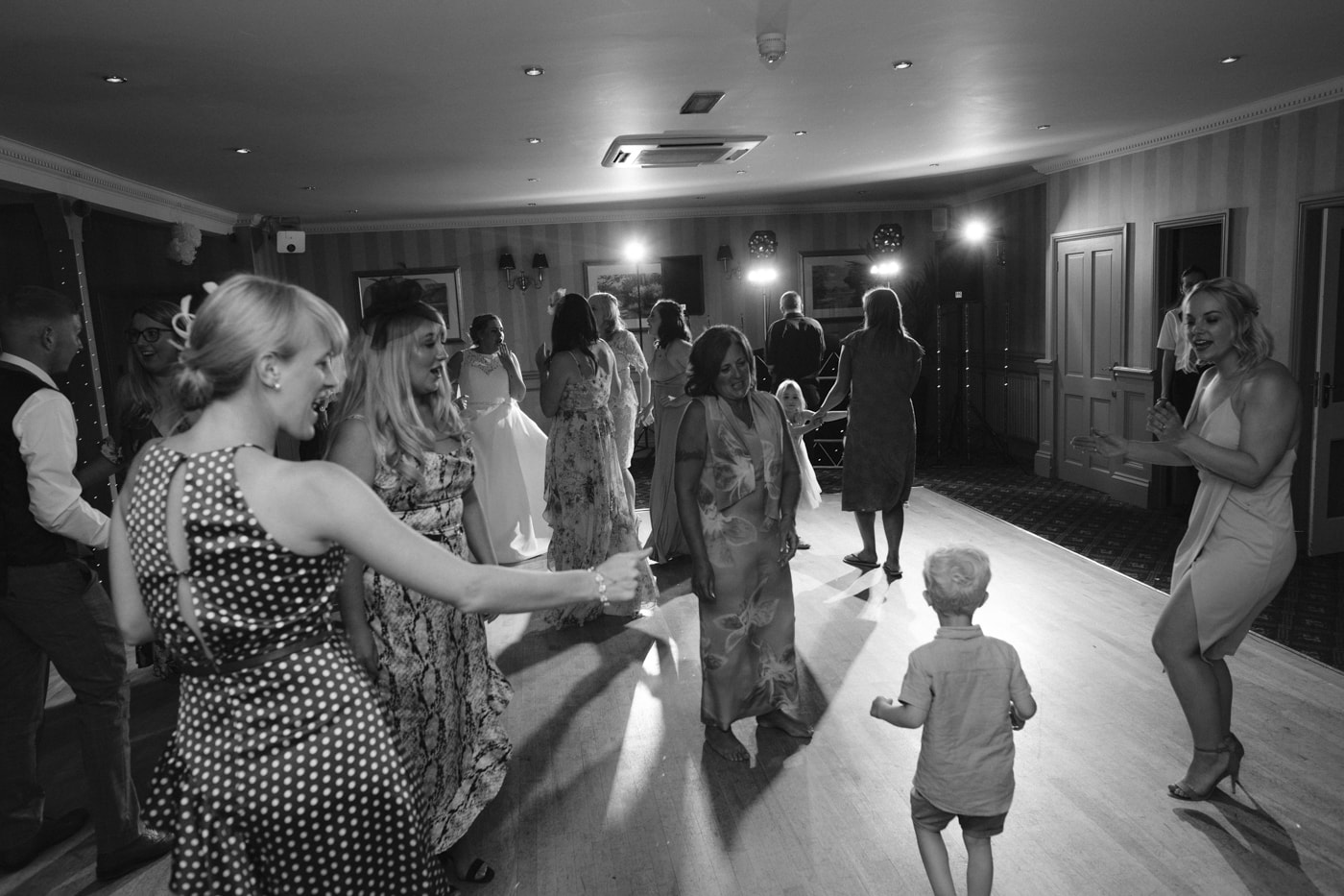 Guest Dancing Together at Rounthorn Country House